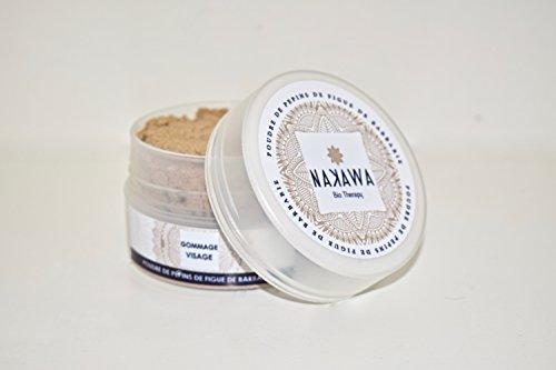 Kaktusfeigenpulver by NAKAWA ® - 100% rein und biologisch - DIY Gesichtsmaske/Peeling - Bekämpft Akne und Mitesser und schützt vor trockener Haut
