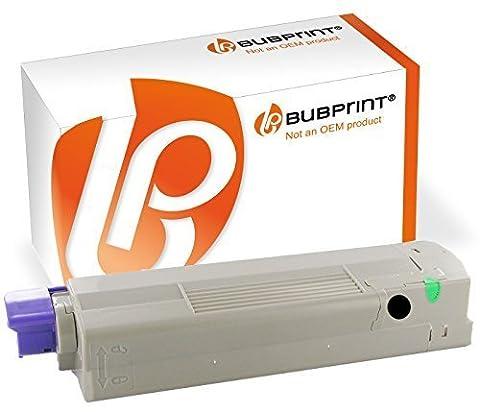 Bubprint Toner black kompatibel für OKI C610 C 610