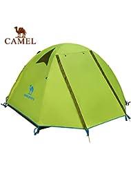 engranaje al aire libre Camel poste de aluminio al aire libre ultraligero litera doble acampar al aire libre tienda de campaña lluvia