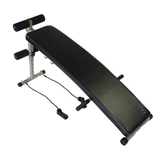Unibest Sit up Bank Bauchtrainer Fitnessbank Pro101