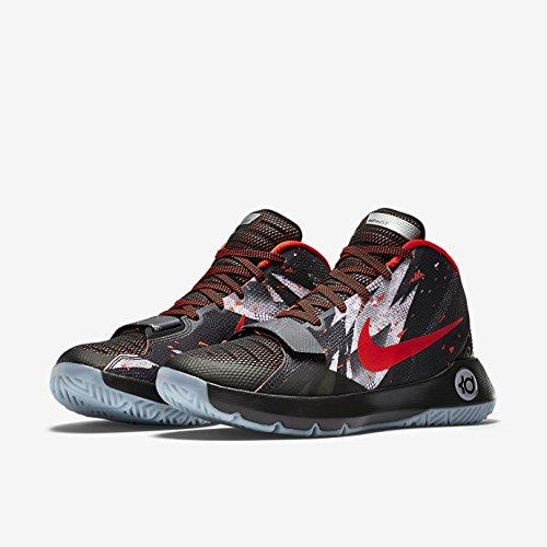 Nike  Kd Trey 5 Iii Prm,  Herren Basketball Turnschuhe Schwarz / Rot
