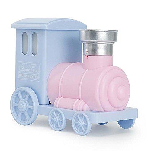 Aroma Diffuser Kleine Zug 90 ML Luftbefeuchter Ultraschall Aatomization Aroma Diffusor Led-nachtlicht kein Wasser Automatische aus USB Stromversorgung Mute , Pink (Kühlen Nebel-luftbefeuchter Kleinen Raum)