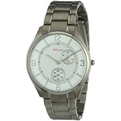 Pure Grey Watches Men's Quartz Watch 1671.90.91 with Metal Strap