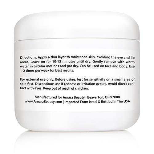 Amara Organics Totes Meer Schlamm Maske für Gesicht und Körper - 3