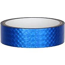 discapacitados Deko cinta adhesiva 25mm x 30m para Hula Hoop, Azul
