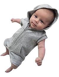 Btruely Herren Bebe Monos, Ropa Bebe Recien Nacido Bebé Niño Niña Mameluco Lindo Mono Ropa Bebé Unisex Mono Manga Corta Bodies