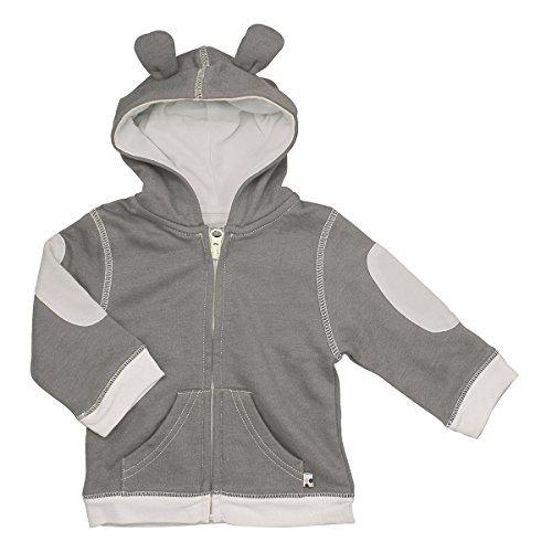 Babysoy Bunny Ears Fleece Hoodie Jacket (2T