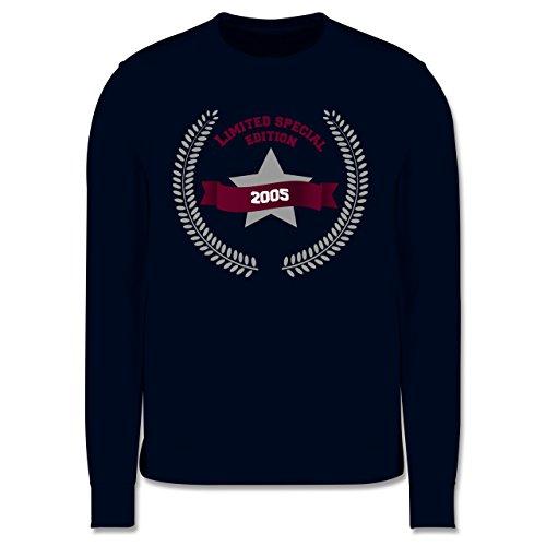 Geburtstag - 2005 Limited Special Edition - Herren Premium Pullover Dunkelblau