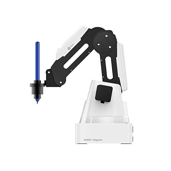 dobot Magician Robot Arm Kit, 4 Axis Desktop Robotic Arm, 3d printer, Laser  Engraver, Scrittura Drawing Picking Placing palletizing Machine,
