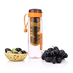 Steelo 750Ml X 1 Pcs Sante Infuser Water Bottle (Orange),