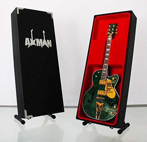 Miniatura Guitarra Replica: Bono Semi acústica Gretsch Falcon irlandés