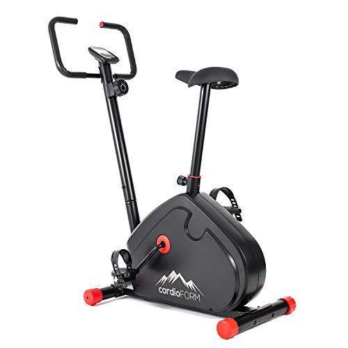 121PERFORM CardioForm Heimtrainer, Fitness Fahrrad mit Trainingscomputer