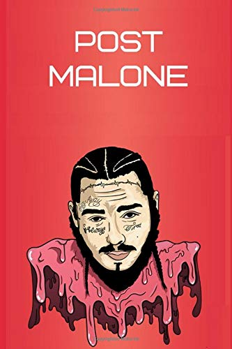 Zoom IMG-2 love post malone notebook 6x9