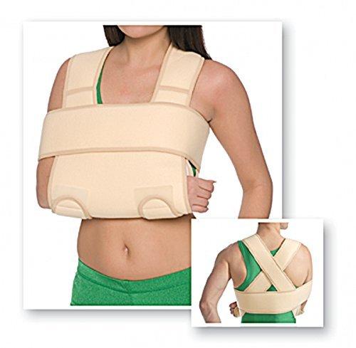 Armgelenkbandage Armschlinge Schulter-Arm-Bandage verstärkt Hand-Gelenk 8013 beige S/M