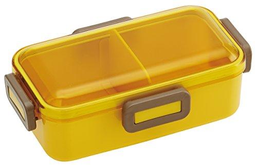 Forme de dôme Couvercle de 4 Lock Bento Lunch Box Musterd Jaune 530 ml
