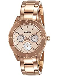 Fossil Designer Analog Rose gold Dial Women's Watch - ES2859