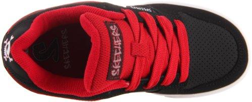Skechers Vert II Jungen Sneakers Schwarz (Bkrd)
