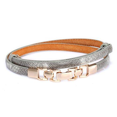 Fibbia cintura catena in metallo/Moda cintura decorativa/