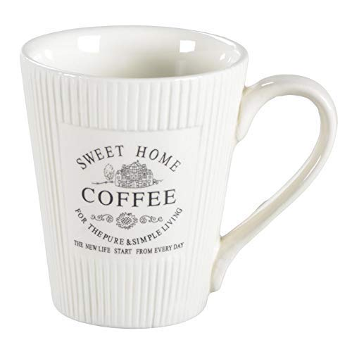 DRULINE 6er-Set Home Sweet Home Kaffeebecher 250 ml