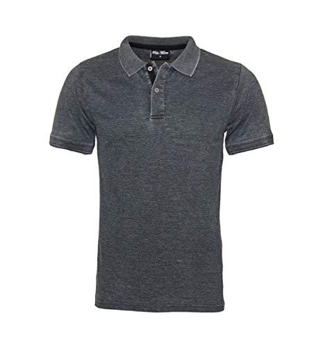 Pablo Malone T-Shirt Polo Uni poolman JH1601161 Black by Poolman Größe XL