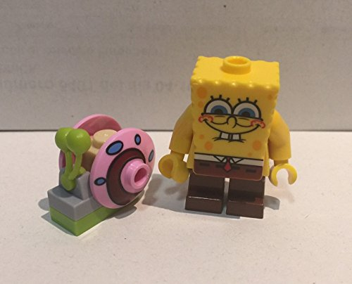 LEGO Spongebob Squarepants: Spongebob Minifiguren Mit Gary Die Schnecke
