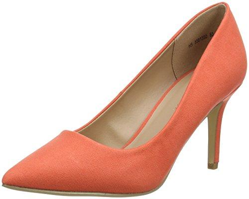 New Look Damen Symbolic Pumps, Pink (Dark Coral 83), 39 EU