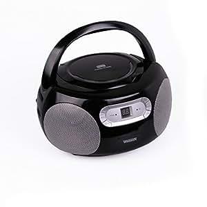 Watson lecteur cD-radio avec lecteur cD, rP 5886 (noir)
