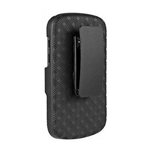 Amzer Shellster Schutzschale BlackBerry Q10 Schwarz - Q10 Sprint Blackberry