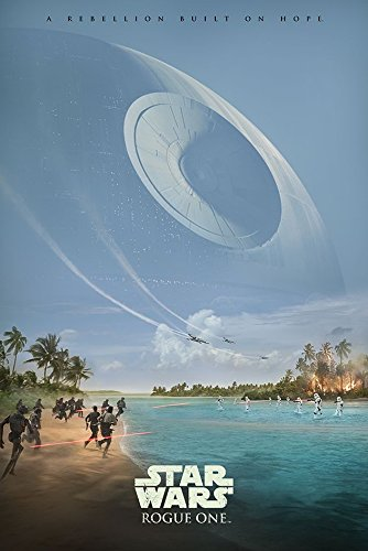 Preisvergleich Produktbild Rogue One: A Star Wars Story Poster Teaser (Todesstern) (61cm x 91,5cm)