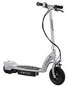 Razor E100 Electric Scooter - Silver