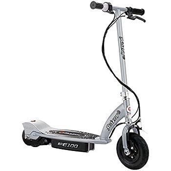 Razor 13181112 - Vélo et Véhicule pour Enfant - Patinette Électrique E100 - Silver (aluminium)