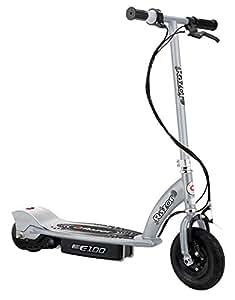 Razor - 13181112 - Vélo et Véhicule pour Enfant - Patinette Électrique E100 - Silver (aluminium)