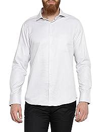 Richard Parker by Pantaloons Mens Cotton Blend Shirt