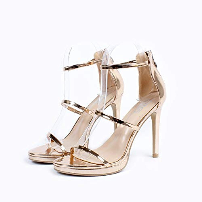 KOKQSX-super high heel di 10cm impermeabile piattaforma moda sandali zuccherino. 41 oroen | Il Prezzo Di Liquidazione  | Gentiluomo/Signora Scarpa