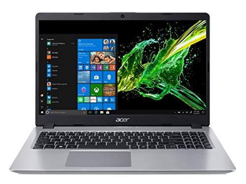 Acer Aspire 5 A515-52-51KS Notebook con Processore Intel Core i5-8265U, RAM da 8 GB DDR4, 256GB SSD, Display da 15.6' FHD LED LCD, Scheda Grafica Intel UHD 620, Windows 10 Home, Silver