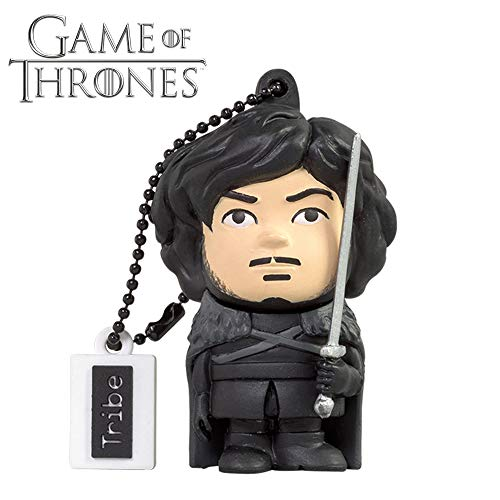Llave USB 16 GB Jon Snow - Memoria Flash Drive 2.0 Original Game of Thrones, Tribe FD032505