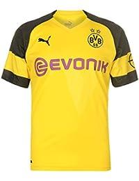 4aabe2ee64d1 Puma Men s BVB Home Shirt Original with Evonik Opel Logo Jersey