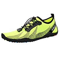 Men Summer Breathable Baech Shoes, Male Fashion Printed Flats Swimming Shoes Water Shoes