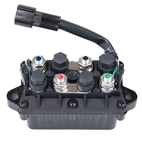 XuBa Relais, 12 V/120 A, 4-Takt-Relais, Kipprelais, 3-poliger Stecker, für Yamaha Außenbordüre -