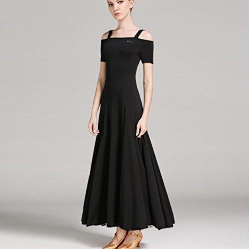 Solid Color Moderne Kleider Kleider für Frauen Performance -
