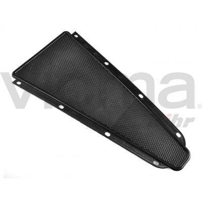 alfomb Rilla Central de goma Vespa 125/150/200PX/GS/Sprint/PE. (Mode los Chasis grande) 390x 165mm