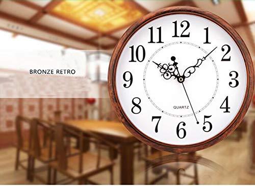 Tosnail 30 cm Orologio da Parete di Silenzioso Stile Vintage Decorazione a Muro - 4