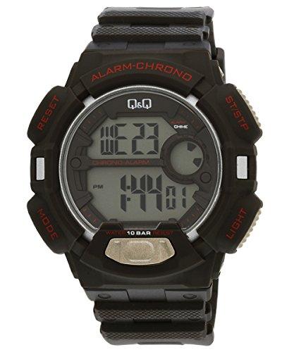 Q&Q Digital Grey Dial Men's Watch - M132J003Y