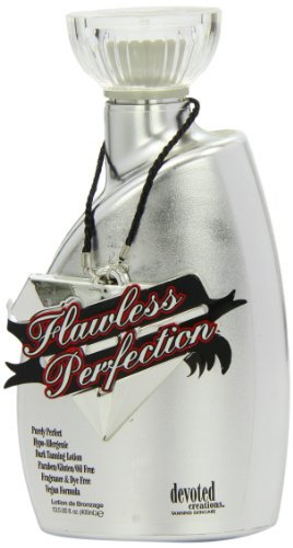 Devoted Creations Flawless Perfection Dark Tanning Lotion Oil Free formula 400ml by Devoted Creations