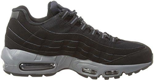 Nike Air Max 95, Herren Laufschuhe Training Schwarz (Black/Dark Grey/Black)