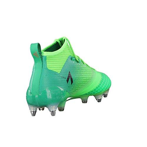 adidas Ace 17.1 Primeknit Sg, Scarpe per Allenamento Calcio Uomo Verde (Versol/Negbas/Verbas)