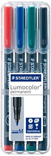 Staedtler Pigment Liner 308 Filzstift, 0,5 mm, Schwarz -