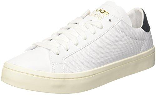 adidas Originals Jugen Court Vantage Sneaker, Weiß (Ftwbla/Ftwbla / Negbas 000), 36 2/3 EU