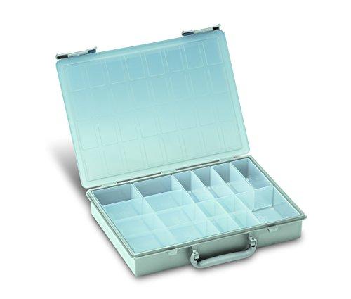 Preisvergleich Produktbild TANOS Rack-Box für Rack-systainer IV - 17 Einzelboxen - Lichtgrau