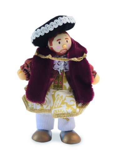 Le Toy Van King Henry VIII Budkin Figure